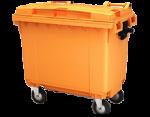 Четырехколесные мусорные контейнеры